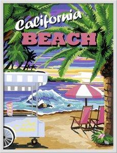 Ravensburger 28887 - California Beach - Malen nach Zahlen, 30 x