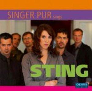 Singer Pur sings Sting