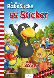 Der kleine Rabe Socke: Das große Rennen - 55 Sticker