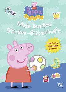 Peppa - Mein buntes Sticker-Rätselheft