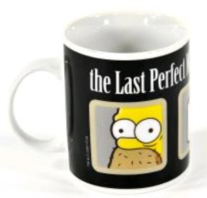 "The Simpsons Tasse ""The Last Perfect Man"""