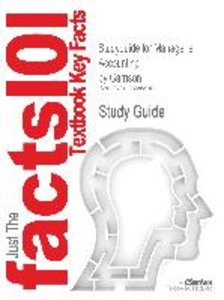 Studyguide for Managerial Accounting by Garrison, ISBN 978007352