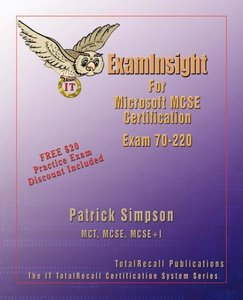 Examinsight for MCP / MCSE Certification