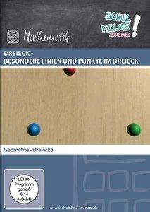 Dreieck - besondere Linien und Punkte im Dreieck, 1 DVD