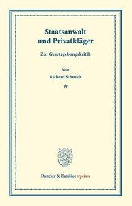 Staatsanwalt und Privatkläger