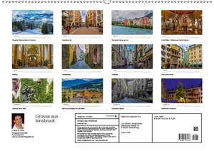 Grüße aus Innsbruck (Wandkalender 2017 DIN A2 quer)