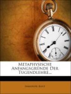 Metaphysische Anfangsgründe der Tugendlehre, Zweite Auflage