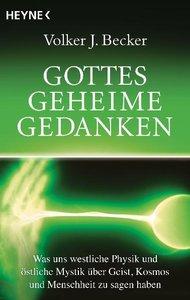 Becker, V: Gottes geheime Gedanken