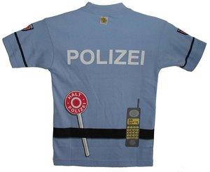 Polizei T-Shirt, Gr. 134, 6-9 Jahre