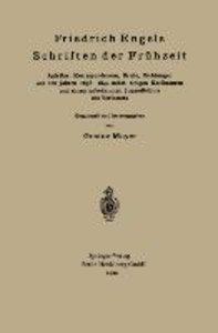 Friedrich Engels Schriften der Frühzeit