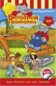 Benjamin Blümchen 109...als Baggerfahrer