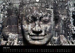 Thailand & Cambodia / UK Version (Wall Calendar 2016 DIN A3 Land