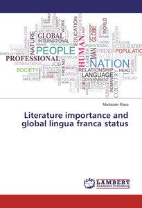 Literature importance and global lingua franca status