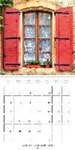 Fenêtres de Provence (Calendrier mural 2015 300 × 300 mm Square)