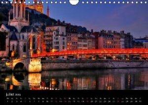 Lyon Magie de la lumière (Calendrier mural 2015 DIN A4 horizonta