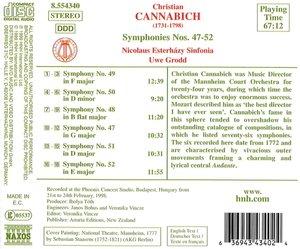 Sinfonien 47-52