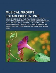 Musical groups established in 1978