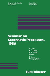 Seminar on Stochastic Processes, 1986