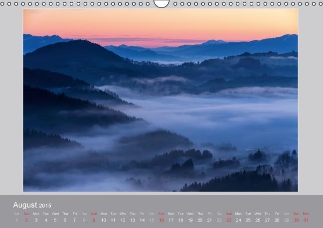 Switzerland Mountainscapes 2015 (Wall Calendar 2015 DIN A3 Lands - zum Schließen ins Bild klicken