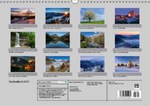 Switzerland Mountainscapes 2015 (Wall Calendar 2015 DIN A3 Lands