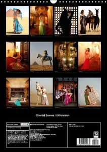 Oriental Scenes / UK-Version (Wall Calendar 2015 DIN A3 Portrait
