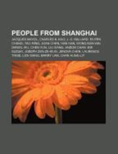 People from Shanghai