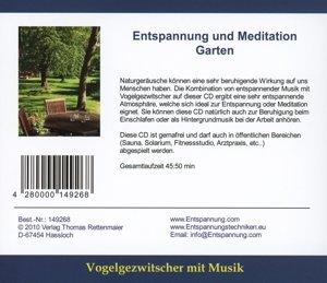 Entspannung und Meditation-Garten