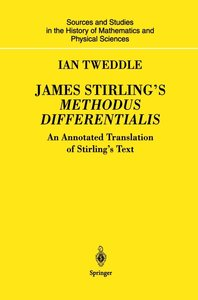 James Stirling's Methodus Differentialis