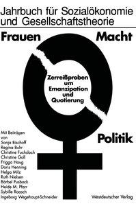 Frauen - Macht - Politik