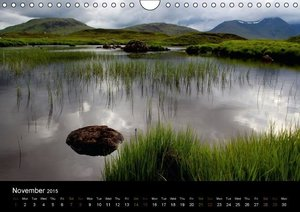 Scottish Highlands (Wall Calendar 2015 DIN A4 Landscape)