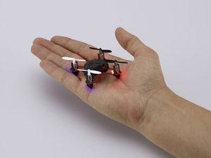 Revell Control 23971 - RC Mini Quadrocopter Nano schwarz mit LED