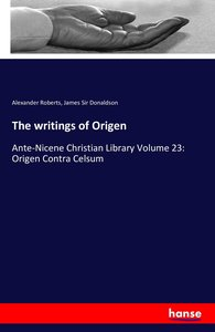 The writings of Origen