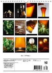 Beer / UK-Version (Wall Calendar 2015 DIN A4 Portrait)
