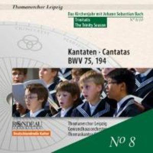 Kantaten BWV 75+194
