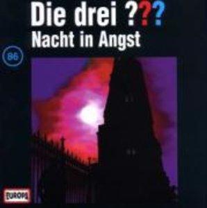 Die drei ??? 086. Nacht in Angst. (drei Fragezeichen). CD
