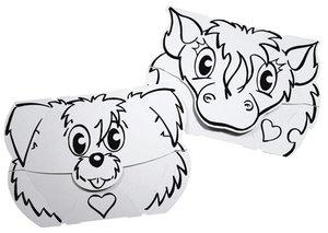 Calafant F3203X - Masken: Hund und Pony