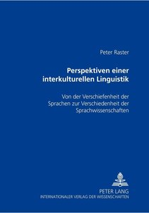 Perspektiven einer interkulturellen Linguistik