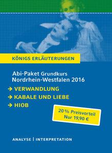 Abitur Nordrhein-Westfalen 2016 Grundkurs - Königs Erläuterungen