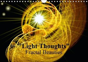 """Light Thoughts"" - Fractal Beauties / UK-Version (Wall Calendar"