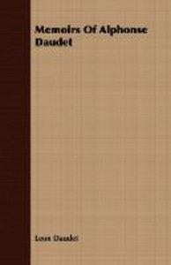 Memoirs of Alphonse Daudet