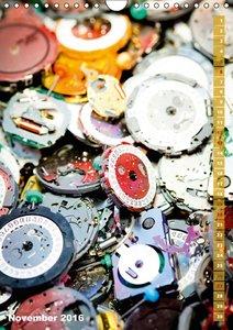 Uhr-Werke: filigran und kostbar (Wandkalender 2016 DIN A4 hoch)