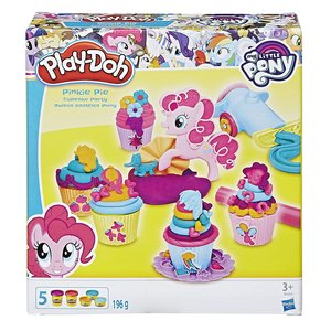 Hasbro B9324EU4 - Play Doh, My little Pony Pinkie Pies Cupcake P