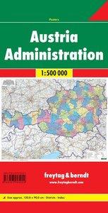 Österreich 1 : 500 000 Verwaltungskarte