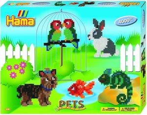 Hama 3128 - Geschenkpackung: Süße Haustiere, 2x Stiftplatten Nr.