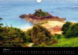 Jersey & Guernsey - Channel Islands (Wall Calendar 2015 DIN A4 L