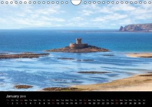 Jersey & Guernsey - Channel Islands (Wall Calendar 2015 DIN A4 L