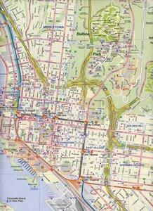 San Diego 1 : 15 000 & USA SW Border 1 : 1 390 000
