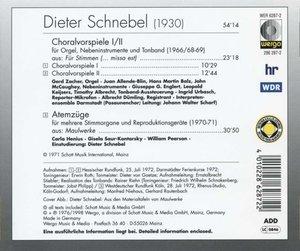 Choralvorspiele I/II-Atemzuge