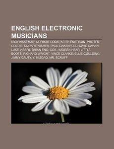 English electronic musicians