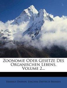 Zoonomie oder Gesetze des organischen Lebens.